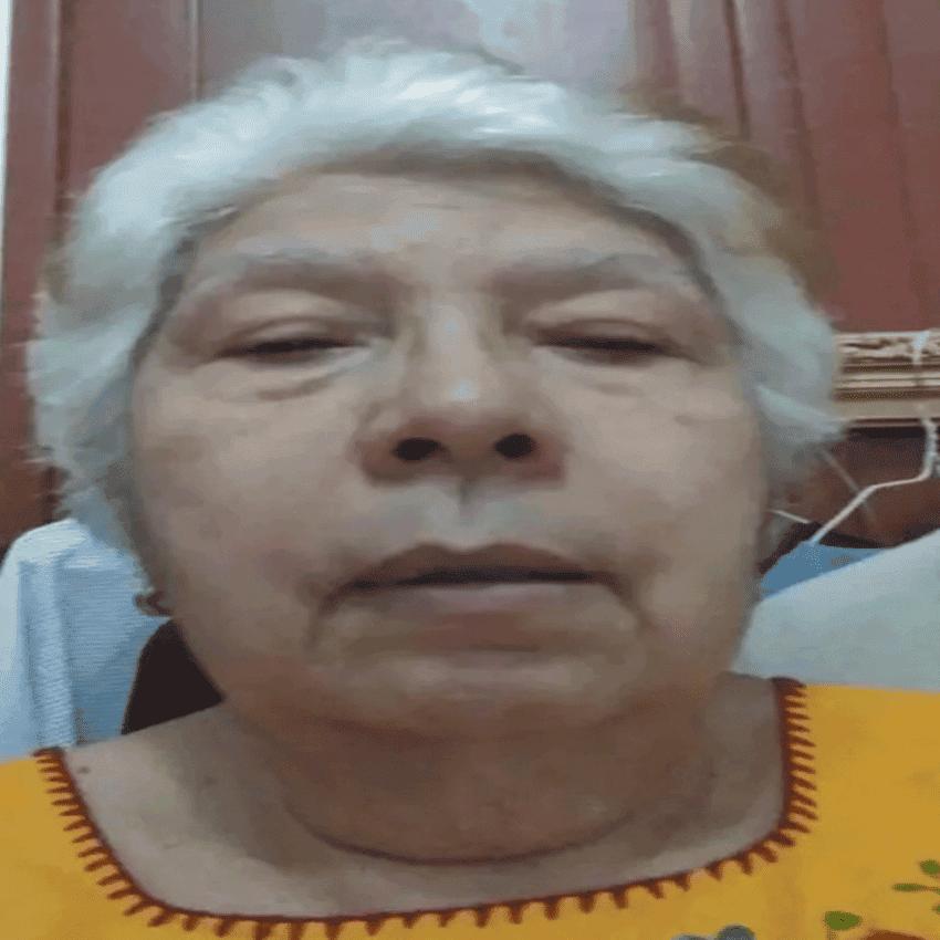 La venezolana Ninety Garrido sufre de una extraña enfermedad que le hace perder la vista de manera rápida.