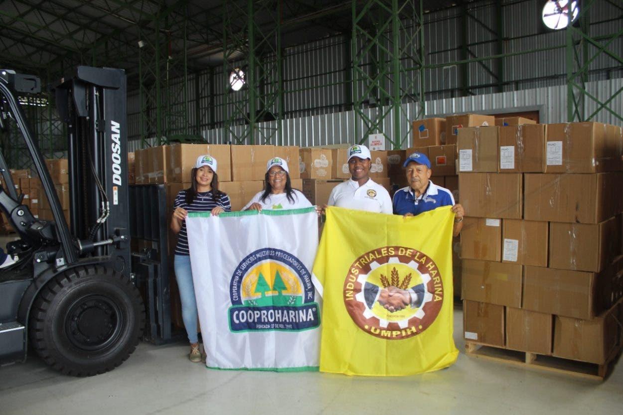 Se solidarizan con Haití, donan panes y medicamentos