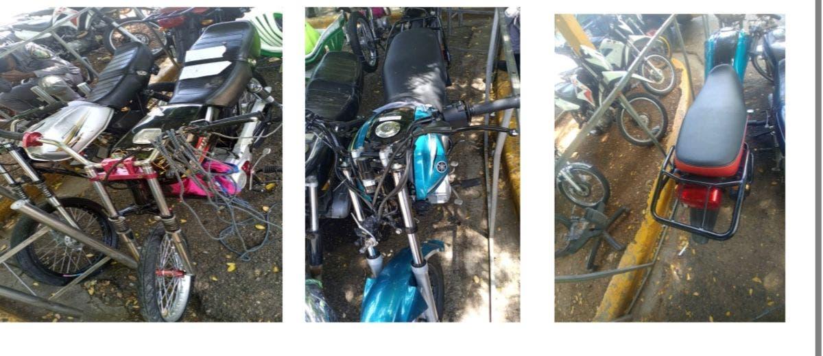 PN desmantela banda de motos-asaltantes que atracaban en grupo