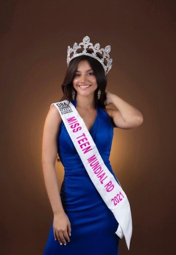 Camila Polanco representará al país en Miss Teen Mundial