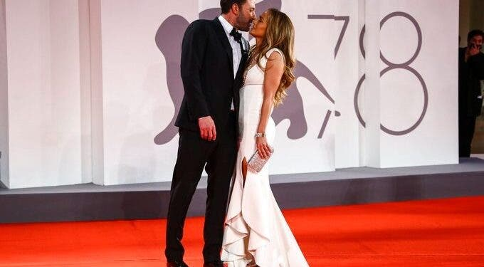 Ben Affleck y Jennifer López, juntos en la alfombra roja de Venecia