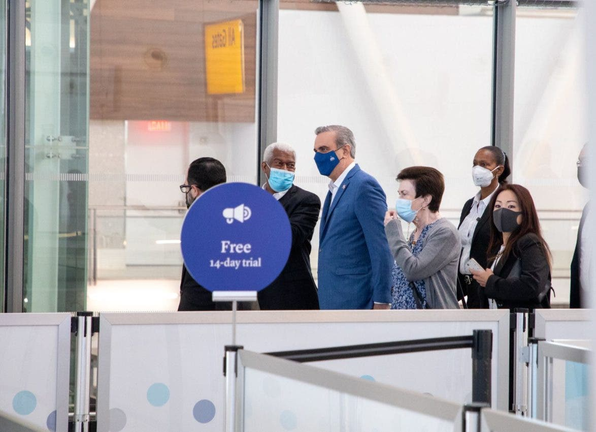 Presidente Luis Abinader llegó a la ciudad de Nueva York