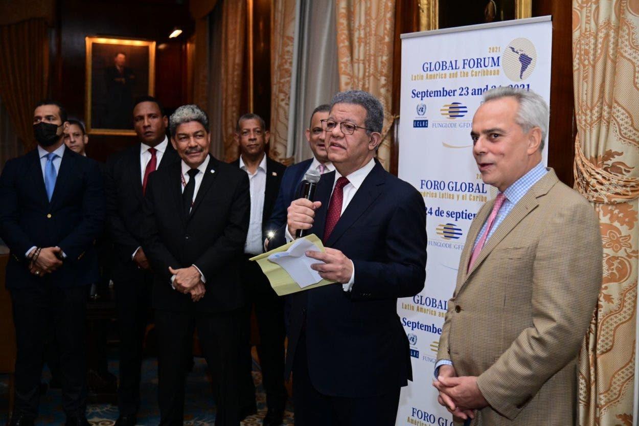 Leonel reitera rechazo reforma constitucional