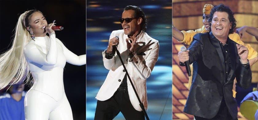 Karol G, Marc Anthony y Vives actuarán en Premios Billboard