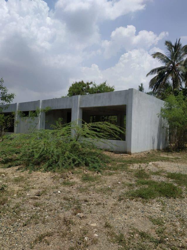 Centro educativo Minerva Rodríguez es una de las escuelas que se encuentran en estado de deterioro.
