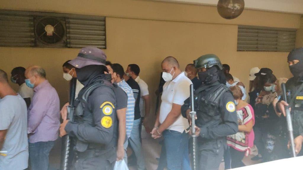 La jueza Iris Borges fue ratificada por la Corte de Apelación local para conocer coerción contra 23 imputados del caso Falcón, foto Alex Reynoso