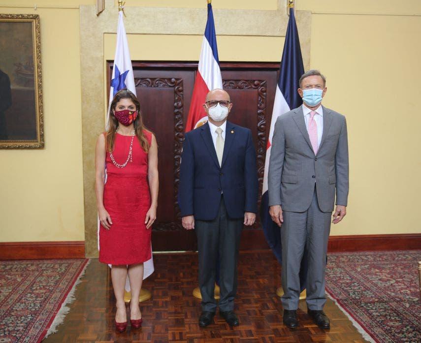 RD, Costa Rica, Panamá impulsan cooperación trilateral