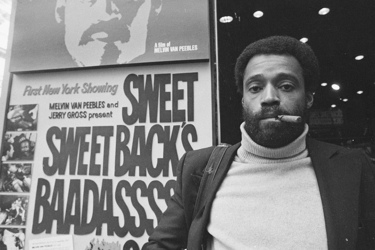 Fallece Melvin Van Peebles padrino del cine negro