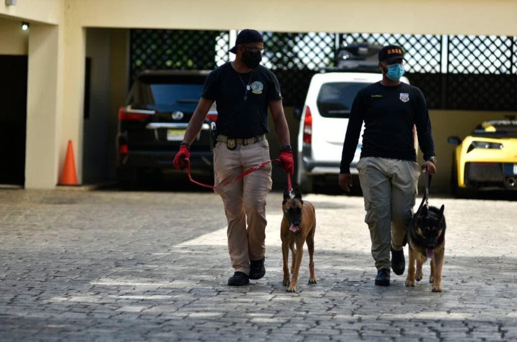 Siguen los allanamientos en el Cibao contra miembros de la operación Falcón