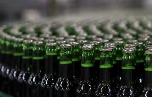 Crisis botellas de vidrio