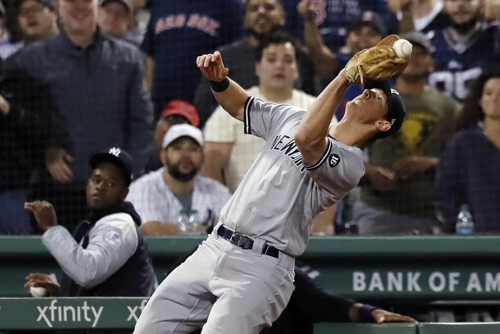 LeMahieu de los Yankees en la lista de los lesionados