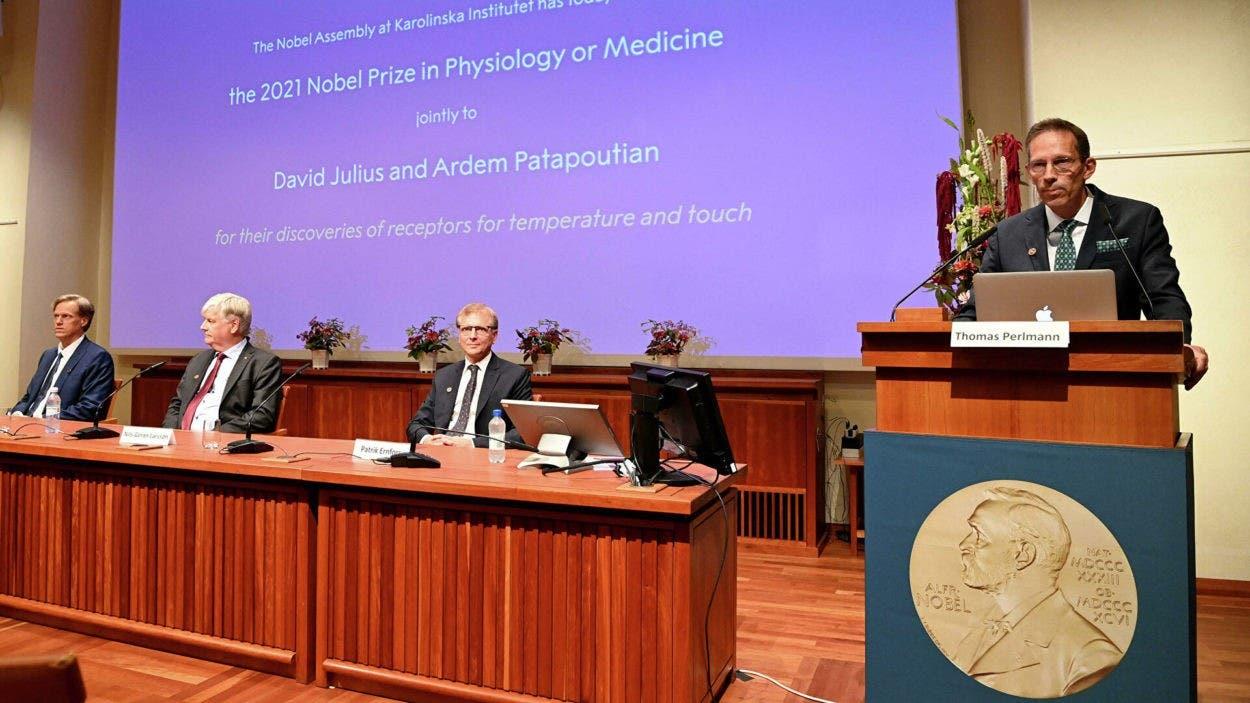 Nobel de Medicina premia hallazgo receptores de la piel