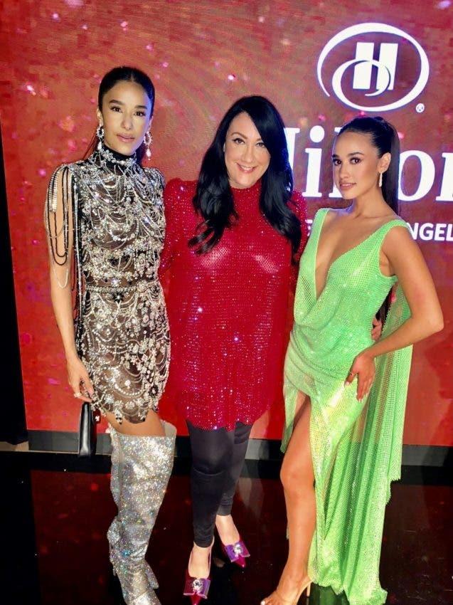 Giannina lleva su moda a Hollywood