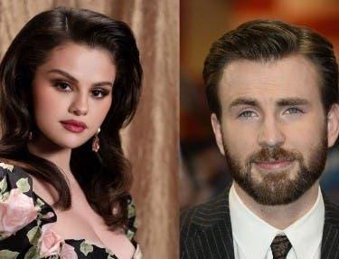 Selena Gómez y Chris Evans