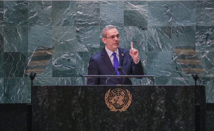Certera estrategia  de Luis Abinader en la ONU