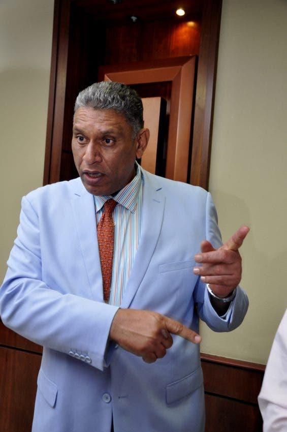 Jesús Vásquez, ministro Interior y Policía