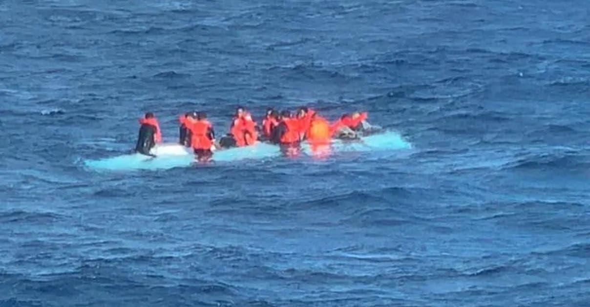 Muertos y  desaparecidos en naufragio yola iba PR