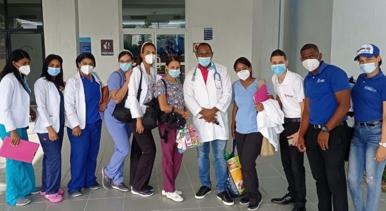 Médicos hospital Calventi hacen operativos salud