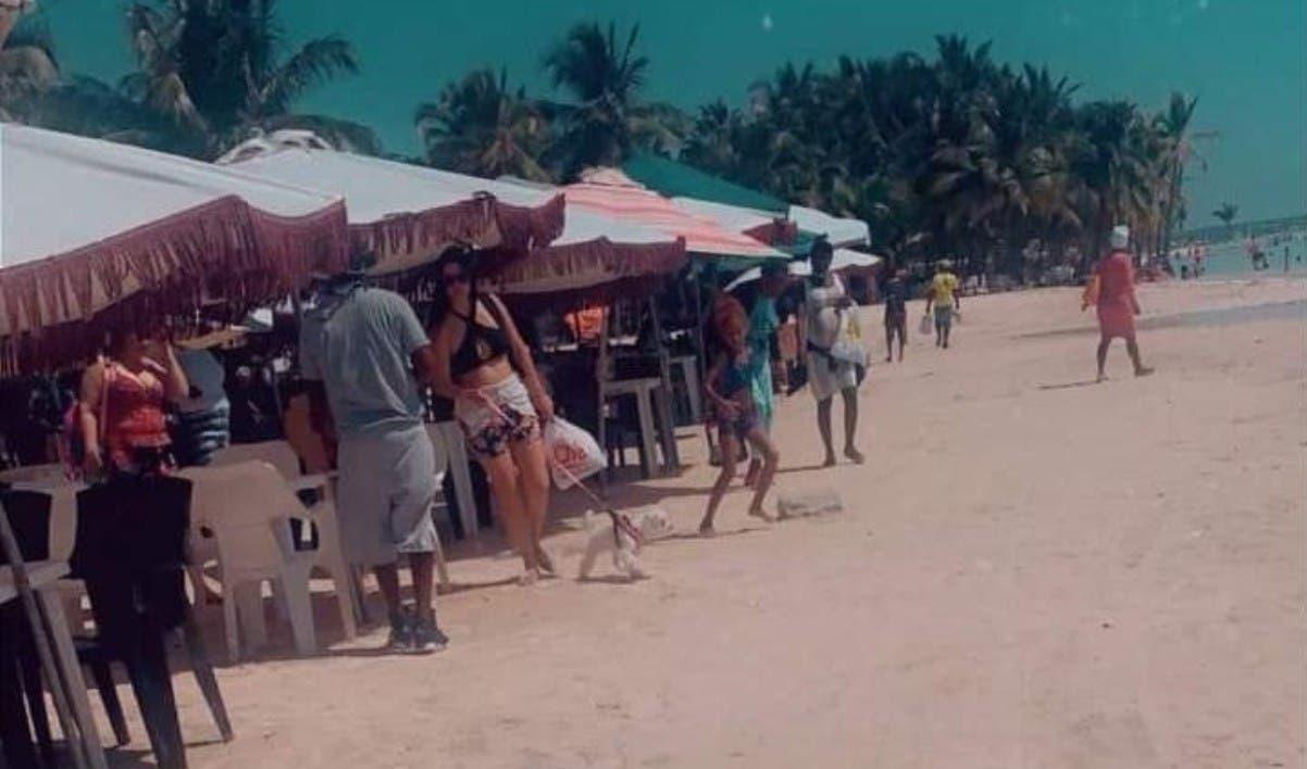 Ven colapsa economía playa de Boca Chica