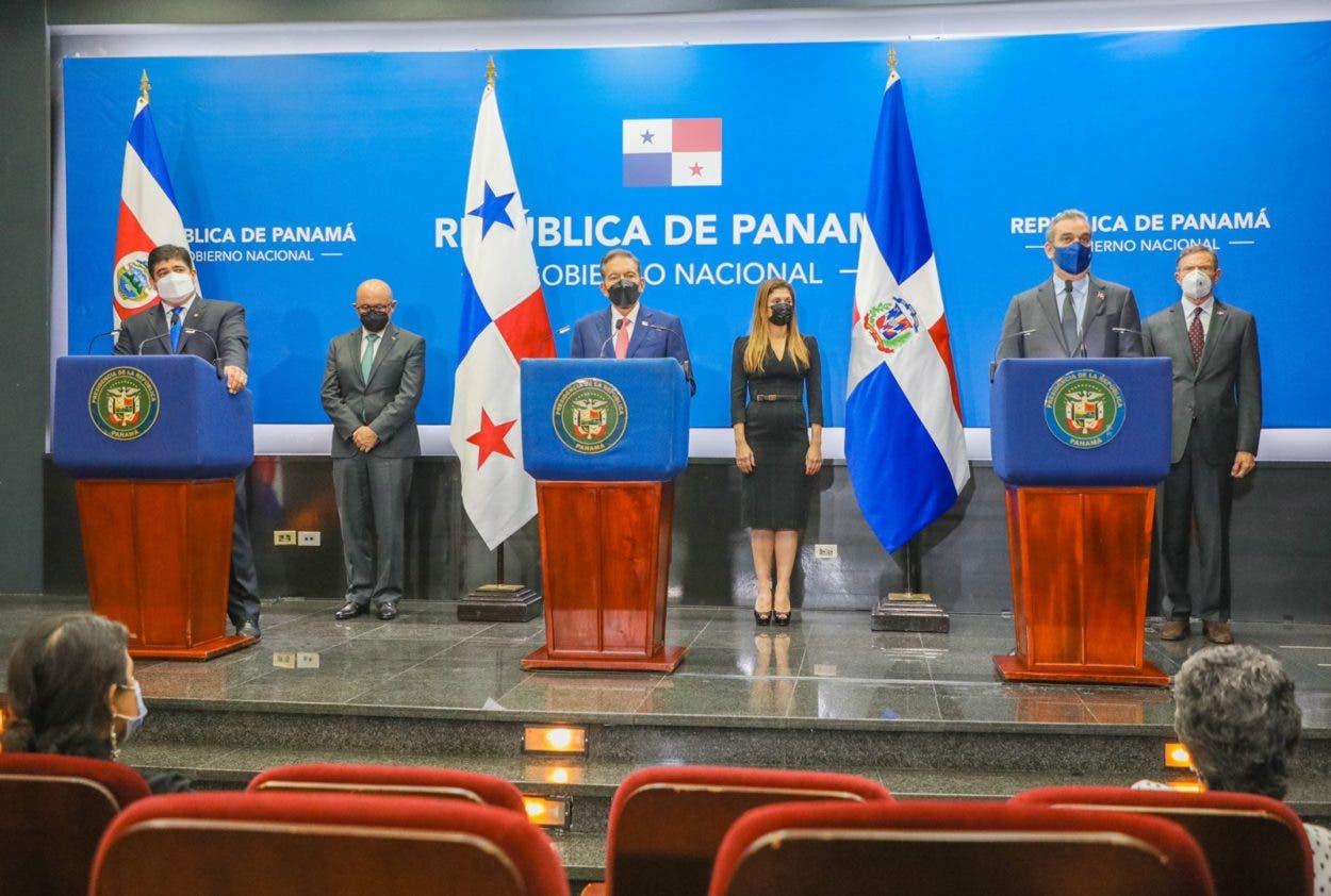 Abinader, Cortizo y Alvarado proponen acciones urgentes a favor de Haití