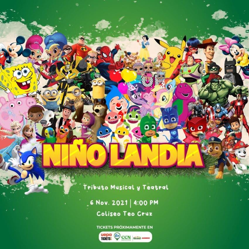 "Anuncian espectáculo ""Niño Landia"""