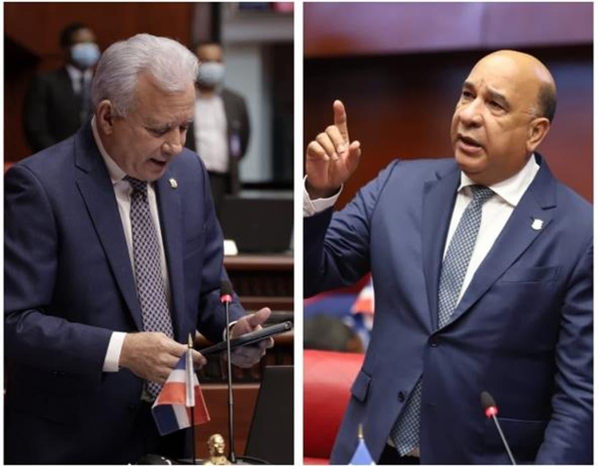 Rojas y Taveras discuten en el Senado por eliminación exoneraciones