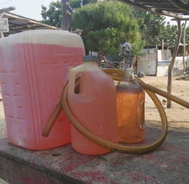 Detienen hombre acusado contrabando combustible hacia Haití