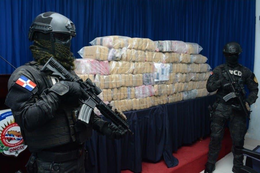 DNCD decomisa 34,226 kg de droga en 13 meses
