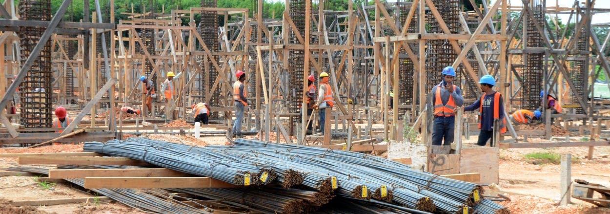 Trabajos teleférico Alcarrizos avanzan a ritmo acelerado