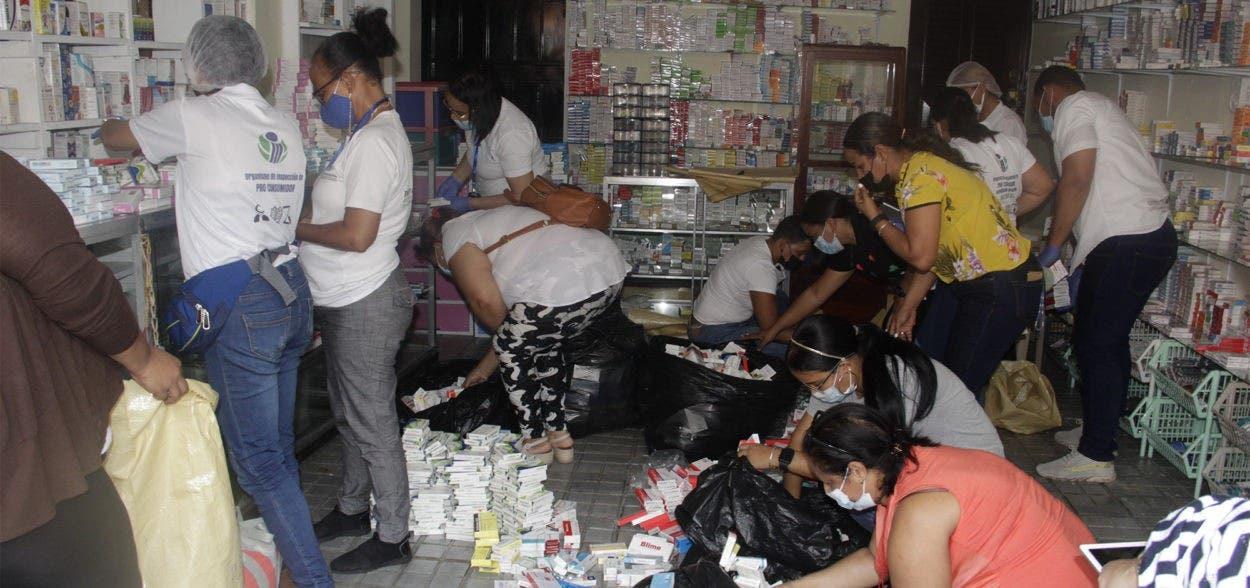 Decomisan más de 25 mil cajas de medicamentos en Moca
