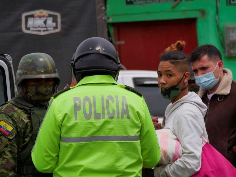 Haitianos, la nueva cara de la migración que atraviesa Ecuador