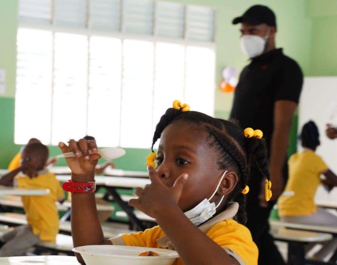 Educación inició este lunes almuerzo escolar
