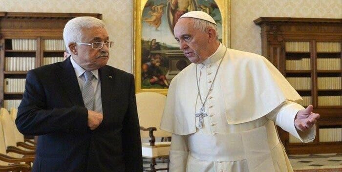 """El papa por teléfono con Abás: """"Todos queremos una solución de dos Estados»"""