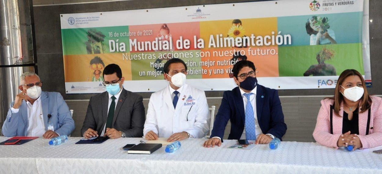 FAO dice 27% de dominicanos adultos están gordos