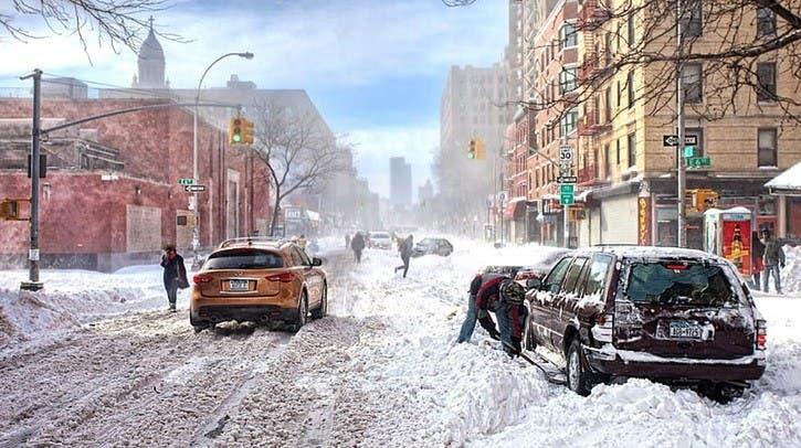 Invierno podría llegar a NY antes de tiempo