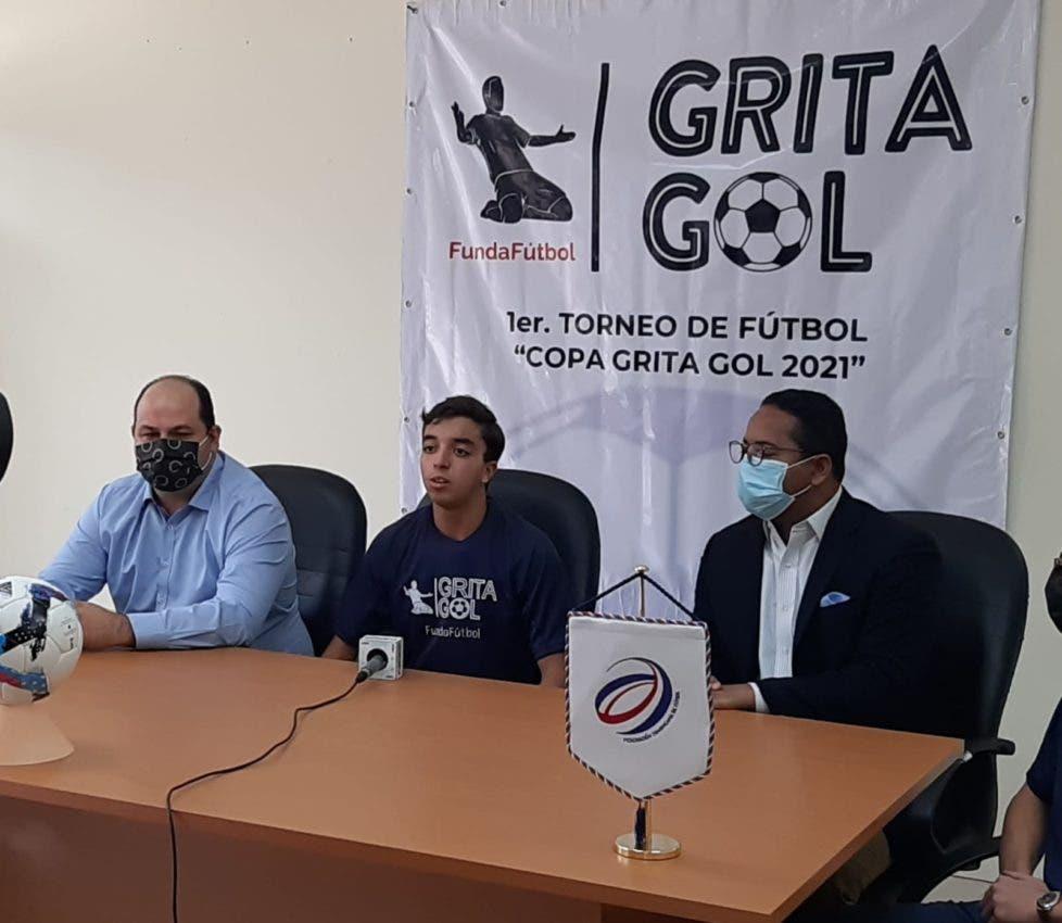 Fundación Grita Gol anuncia torneo de fútbol