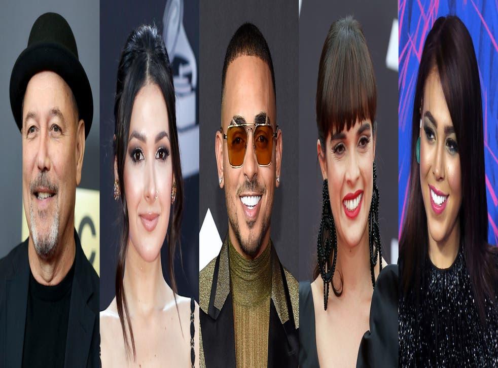 C. Tangana, Rubén Blades y Ozuna actuarán en los Latin Grammy