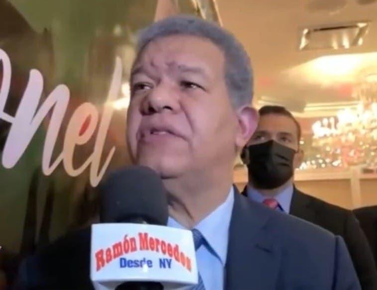"""Leonel dice """"dominicanos quieren facilidad en aduanas"""""""