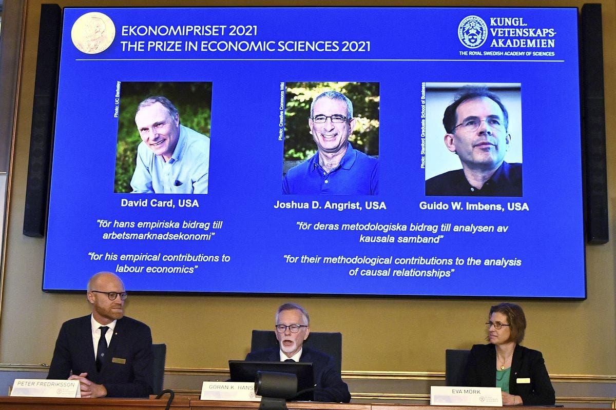 Premio Nobel de Economía lo ganan 3  residentes de EEEUU
