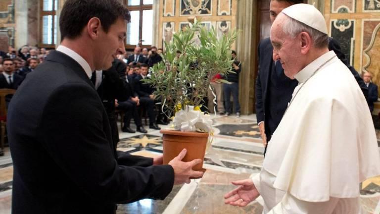 El Papa destaca que a Messi nunca se le subieron «los humos a la cabeza»