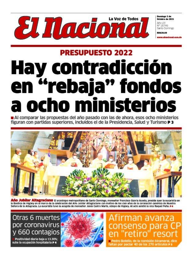 Impreso domingo 03 octubre 2021