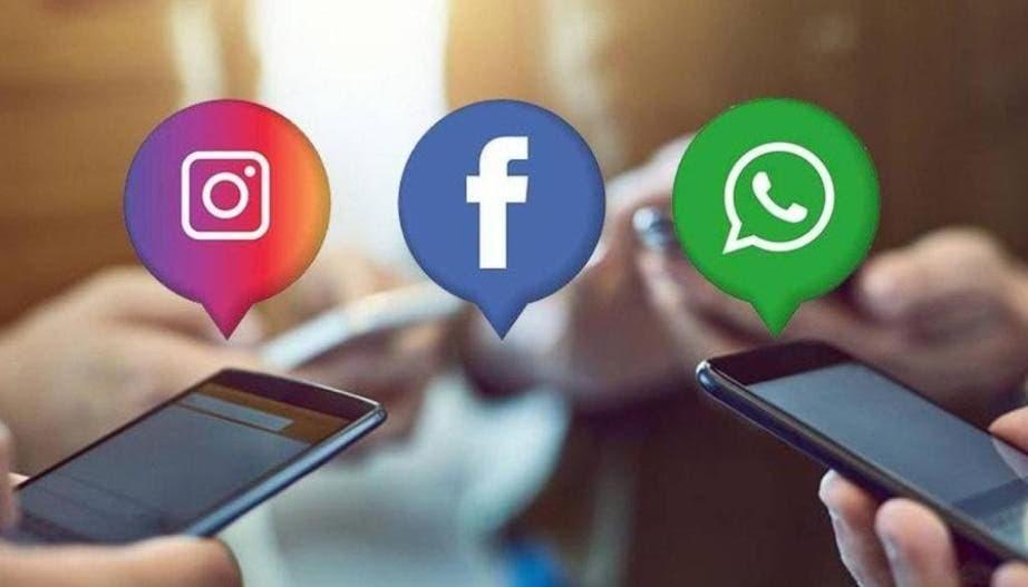 WhatsApp, Instagram y Facebook repotan fallas