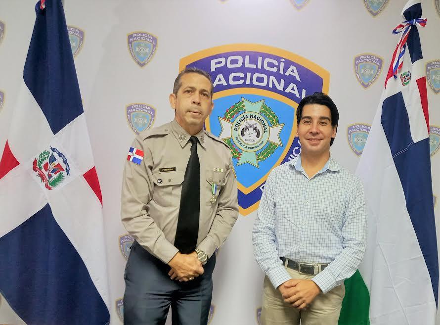 Vocero PN coordina capacitación de los policías