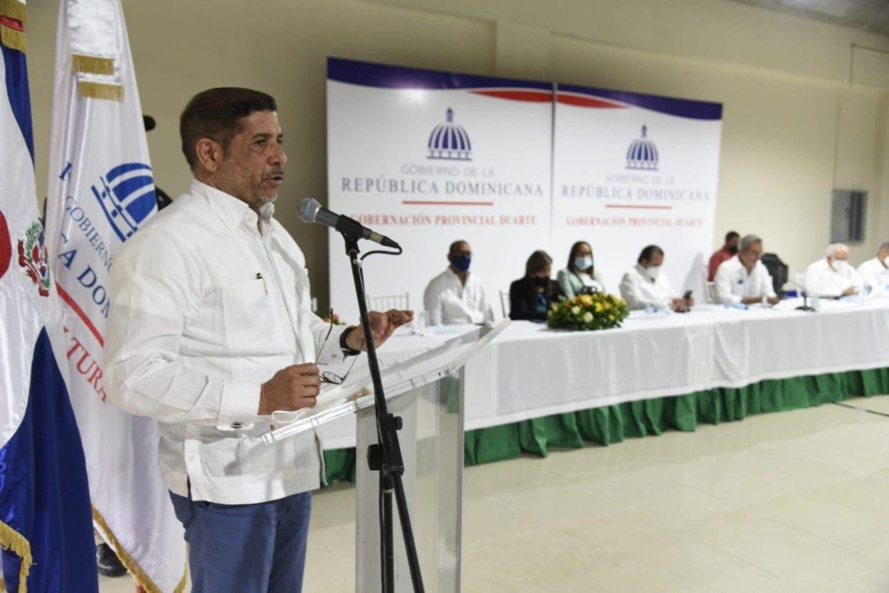 Gobierno beneficia productores provincia Duarte