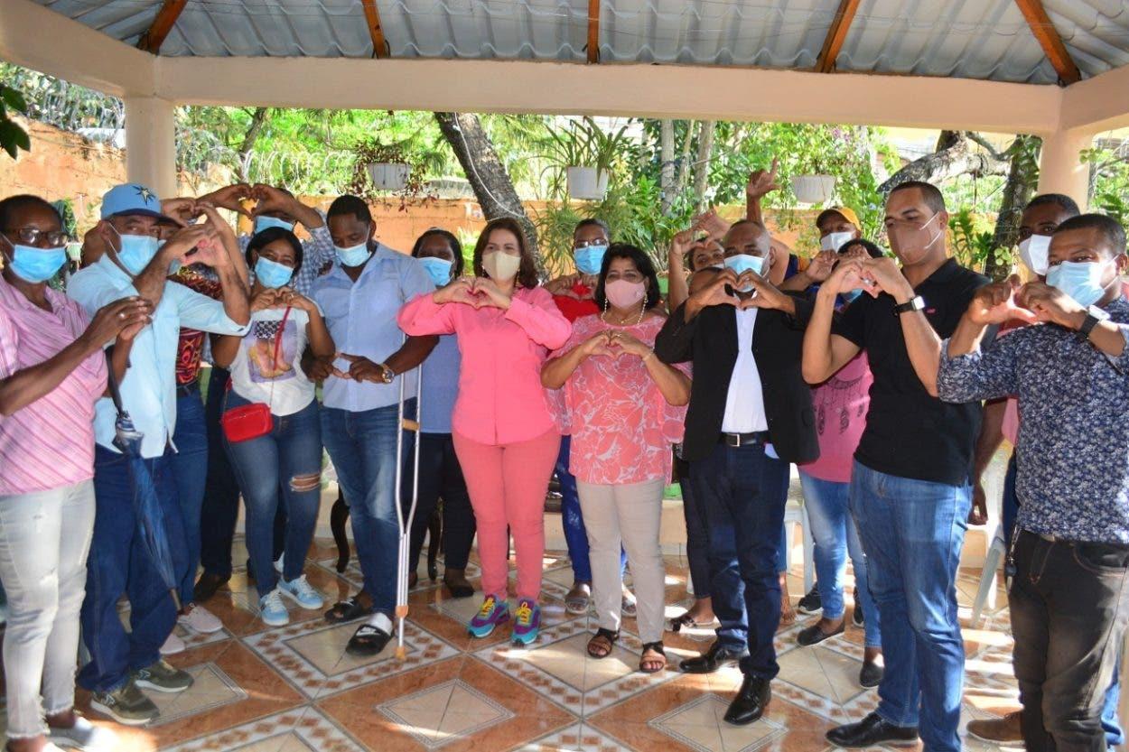 Margarita recibe respaldo dirigentes del PLD
