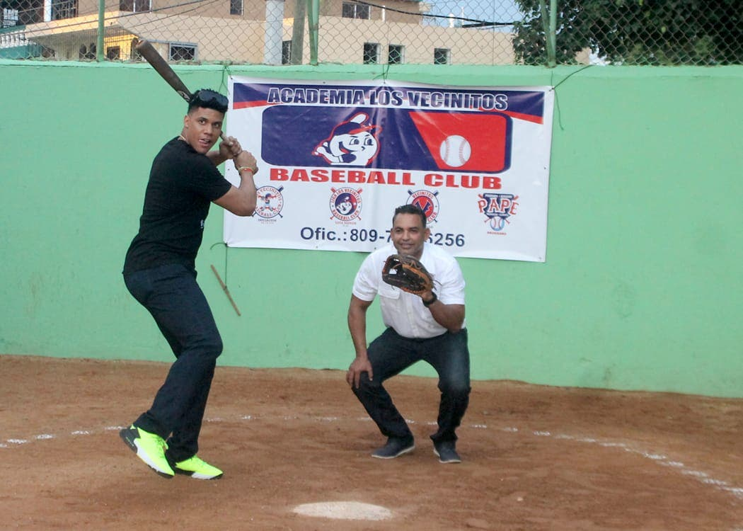 Juan Soto ayudará al desarrollo del béisbol infantil en RD