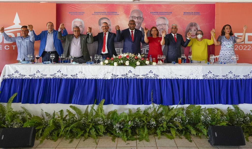 Editrudis Beltrán asume compromiso de transformar la UASD