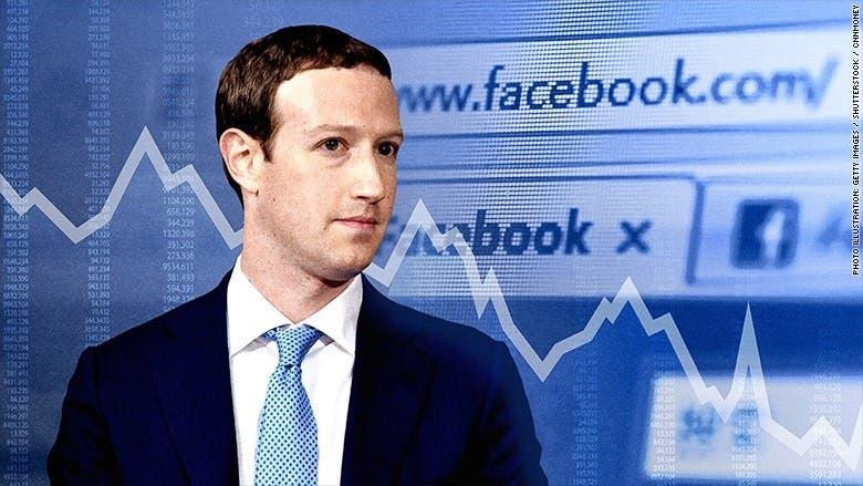 Zuckerberg pierde 5,900 millones de dólares tras la caída de Facebook
