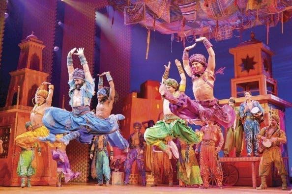 Cancelan musical Aladdin por más casos de covid en Broadway