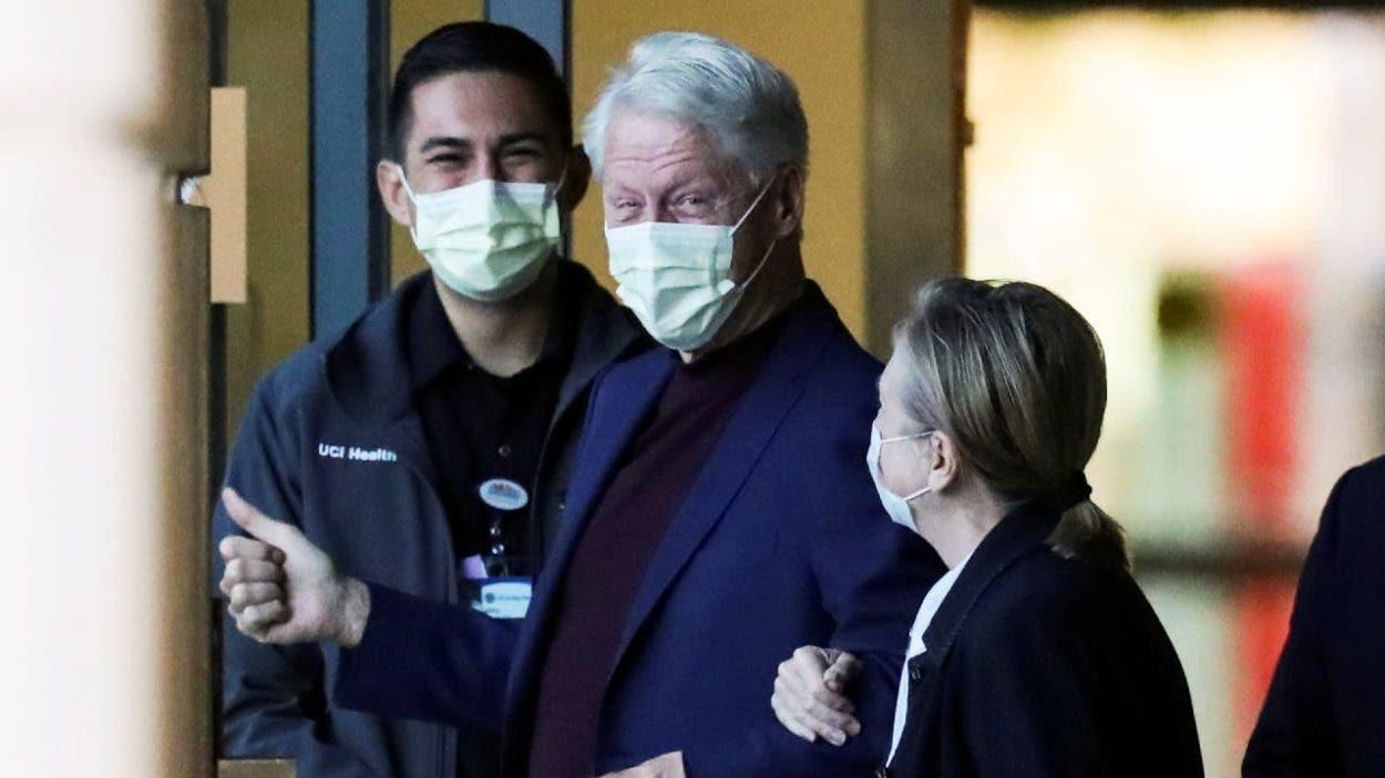 Bill Clinton agradece el apoyo durante su hospitalización